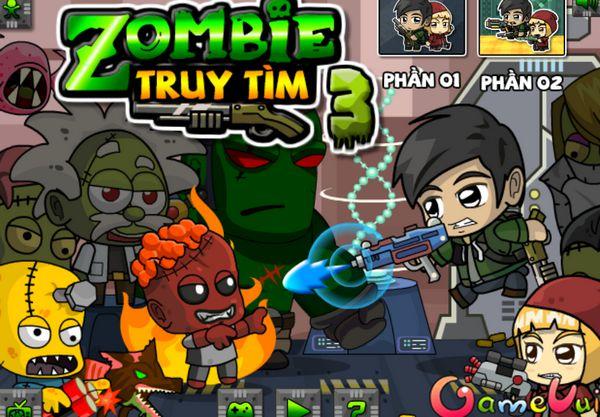 Game truy tìm Zombie 3: Trò chơi truy tìm Zombie 3