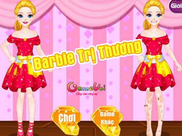 Barbie trị thương