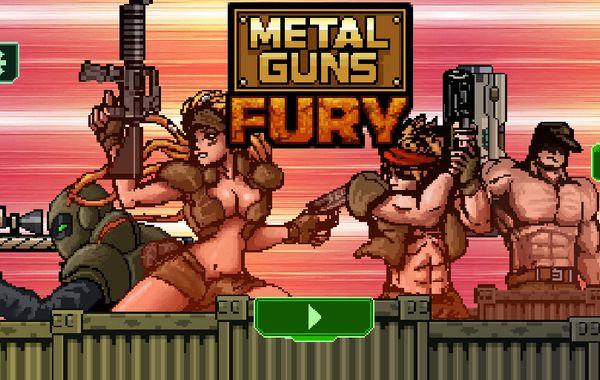 Game biệt đội đánh thuê: Metal Guns Fury