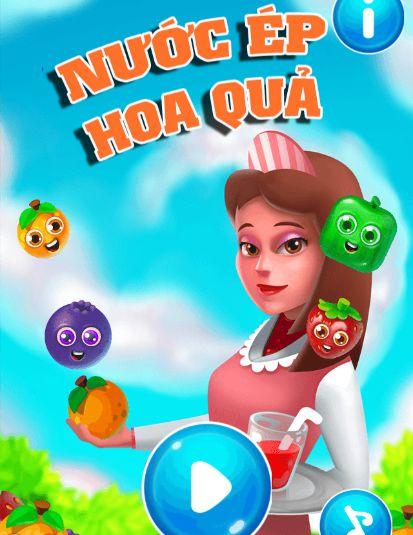 Game nước ép hoa quả: Trò chơi nước ép hoa quả