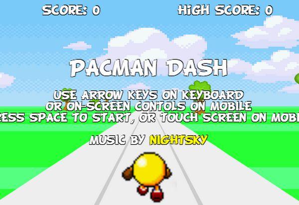Pacman nhặt bóng