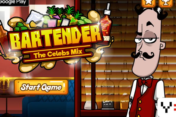 Game pha chế Cocktail: Bartender The Celeb Mix