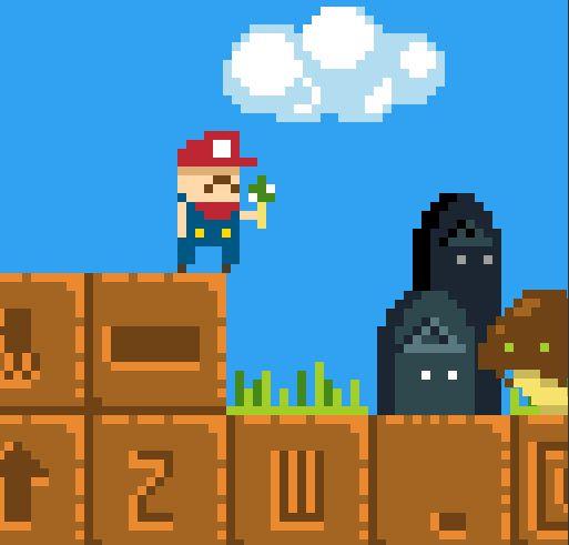 Super Mario hái nấm 1985 2