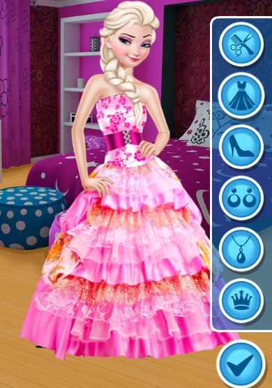 thời trang công chúa Anna 2