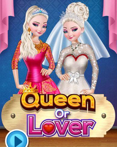 Game thời trang công chúa Anna: Queen or Lover