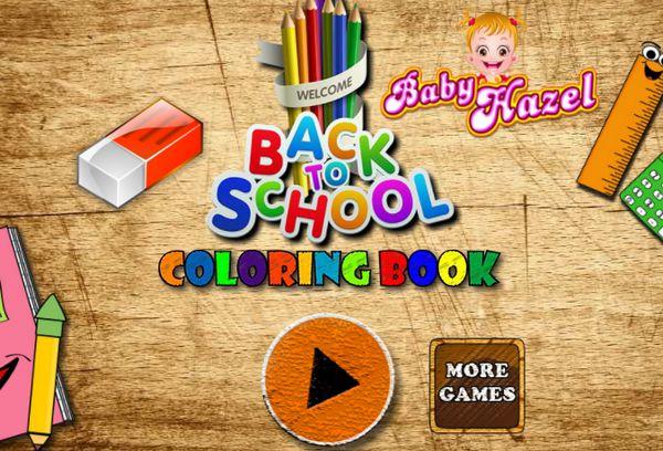 Game tô màu cho Hazel: Baby Hazel Coloring