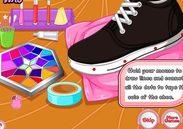 trang trí giày thể thao 1