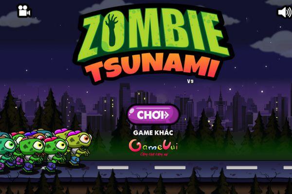 Game Zombie Tsunami: Trò chơi Zombie Tsunami Online