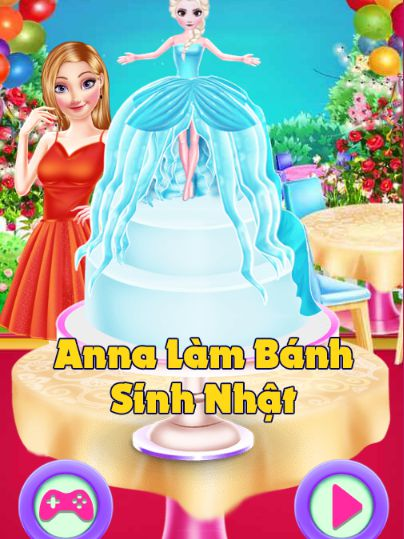 Game Anna làm bánh sinh nhật: Anna's Unfavorable Chef Day