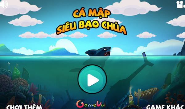 Game cá mập siêu bạo chúa: Trò chơi siêu cá mập