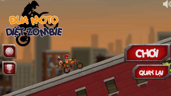 Game đua moto diệt Zombie: Extreme Moto Team