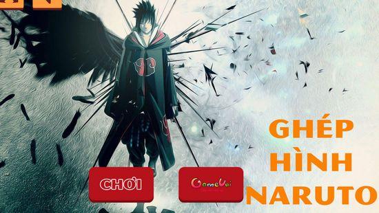 Game ghép hình Naruto: Trò chơi ghép hình Naruto
