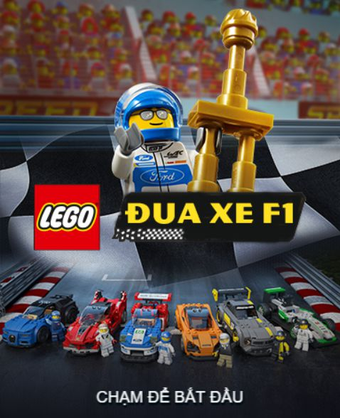Game Lego đua xe F1: Lego Speed Champions