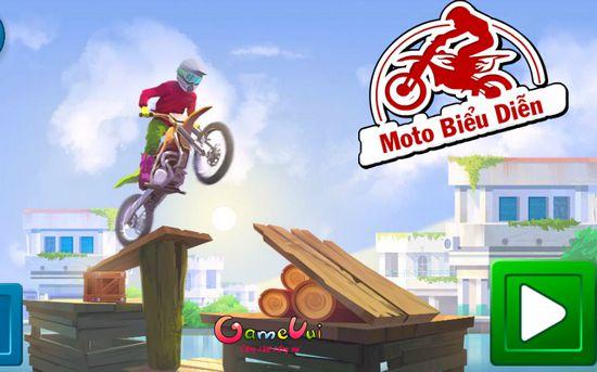 Game Moto biểu diễn: Trò chơi Moto biểu diễn