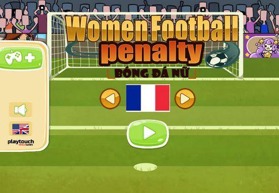 Game Penalty bóng đá nữ: Trò chơi Penalty bóng đá nữ