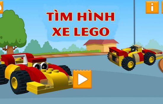 Game tìm hình xe Lego: Lego Car Memory