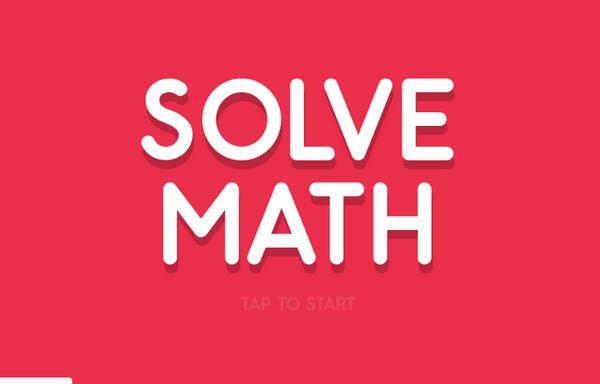 Game toán học siêu cấp: Solve Math