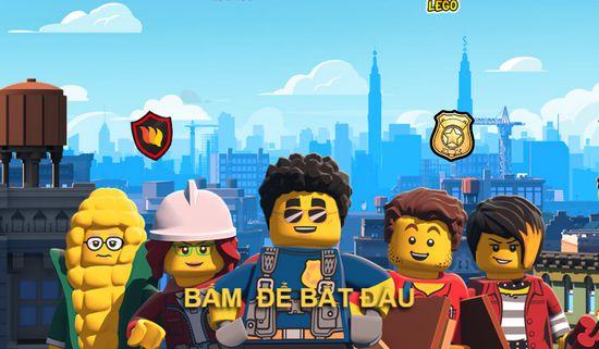 Game xây nhà Lego: Trò chơi xây nhà Lego