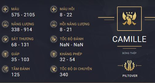 build guide camille mua 10