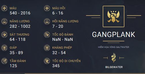 build guide gangplank mua 10
