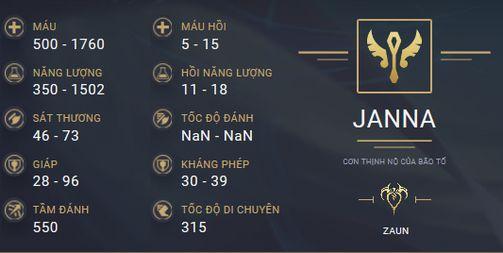 build guide janna mua 10 13