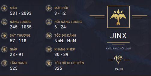 build guide jinx mua 10