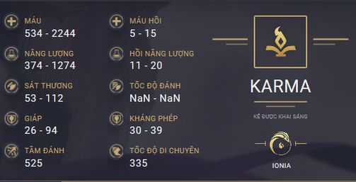 build guide karma mua 10