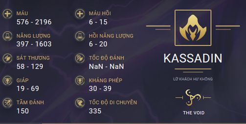 build guide kassadin mua 10 9