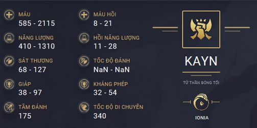 build guide kayn mua 10