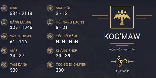 build guide kogmaw mua 10