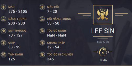 build guide lee sin mua 10