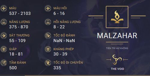 build guide malzahar mua 10