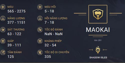 build guide maokai mua 10