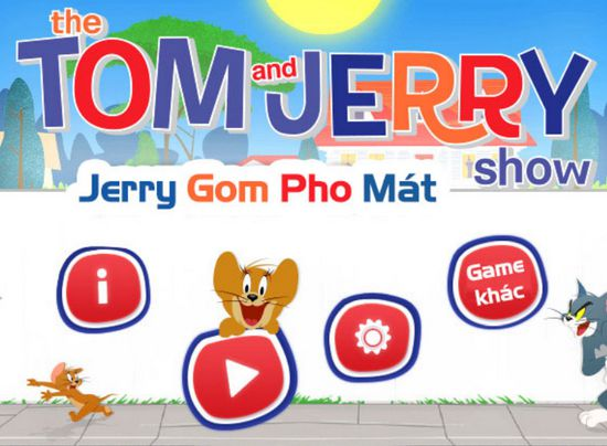 Game Jerry gom pho mát: Cheese Run