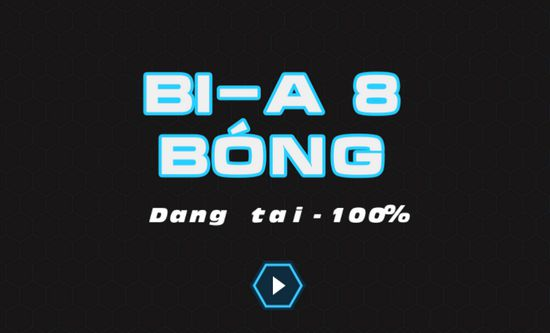 Game Bi-A 8 bóng: Pool 8 Ball