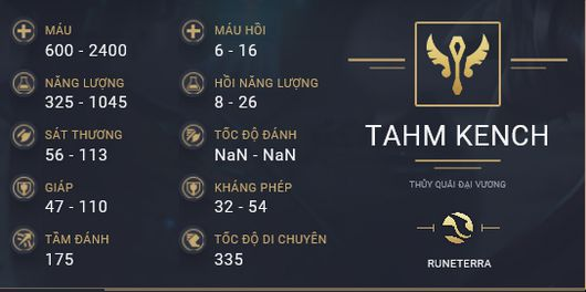 build guide tahm kench 1