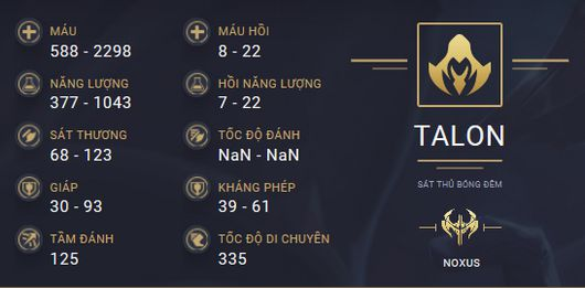 build guide talon 1
