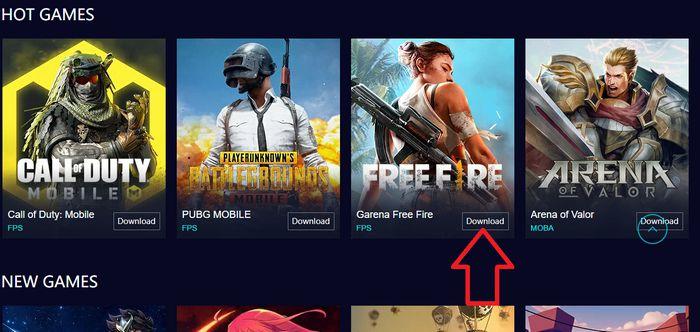 tải Free Fire trên PC