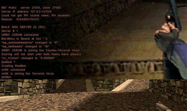 mã lệnh Cheat CS 1.1 Half Life