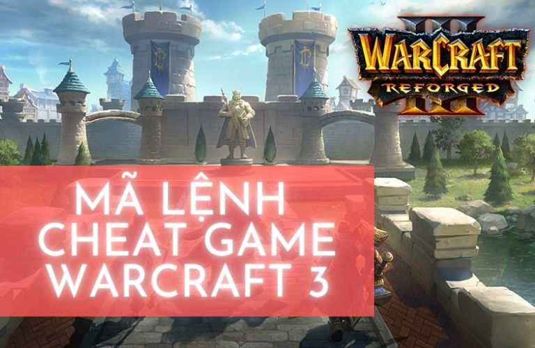 mã lệnh cheat game warcraft 3