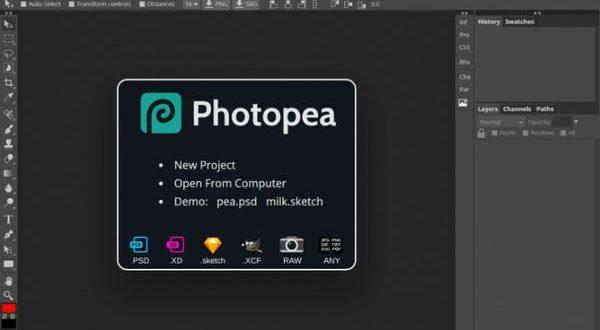 Phần mềm PHOTOSHOP ONLINE – Chỉnh sửa ảnh trực tuyến