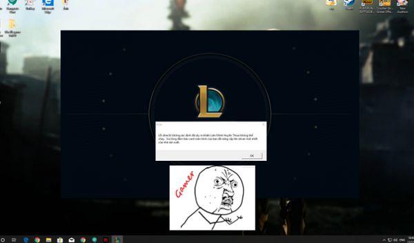 sửa lỗi DirectX game Liên Minh Huyền Thoại