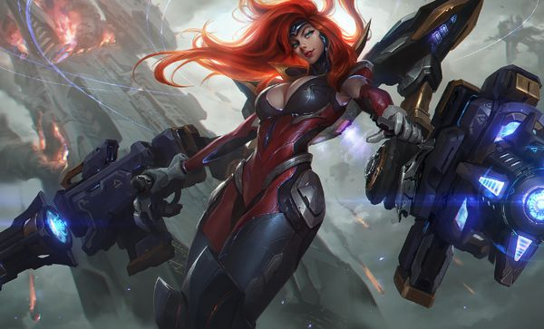 khắc chế tướng Miss Fortune