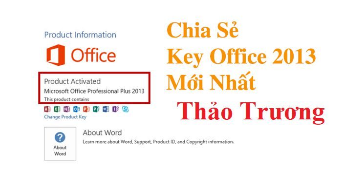 key office 2013