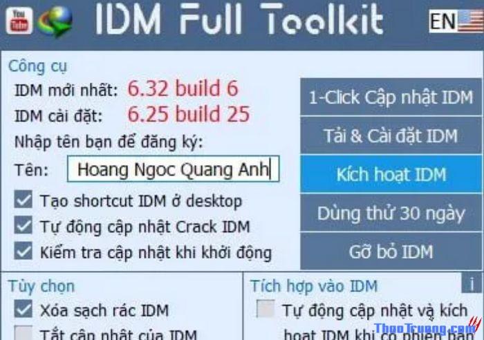 IDM Full Toolkit