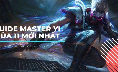 hướng dẫn cách chơi tướng master yi