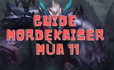 hướng dẫn cách chơi tướng mordekaiser