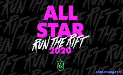 Lịch thi đấu All Star 2020