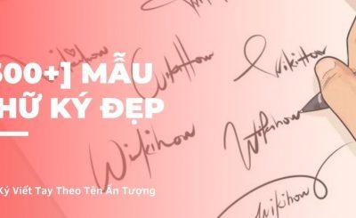 mẫu chữ ký đẹp