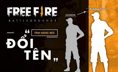 cách đổi tên nhân vật Free Fire